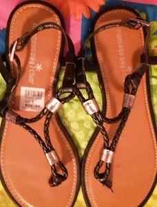 Montego Bay Club Black Sandals